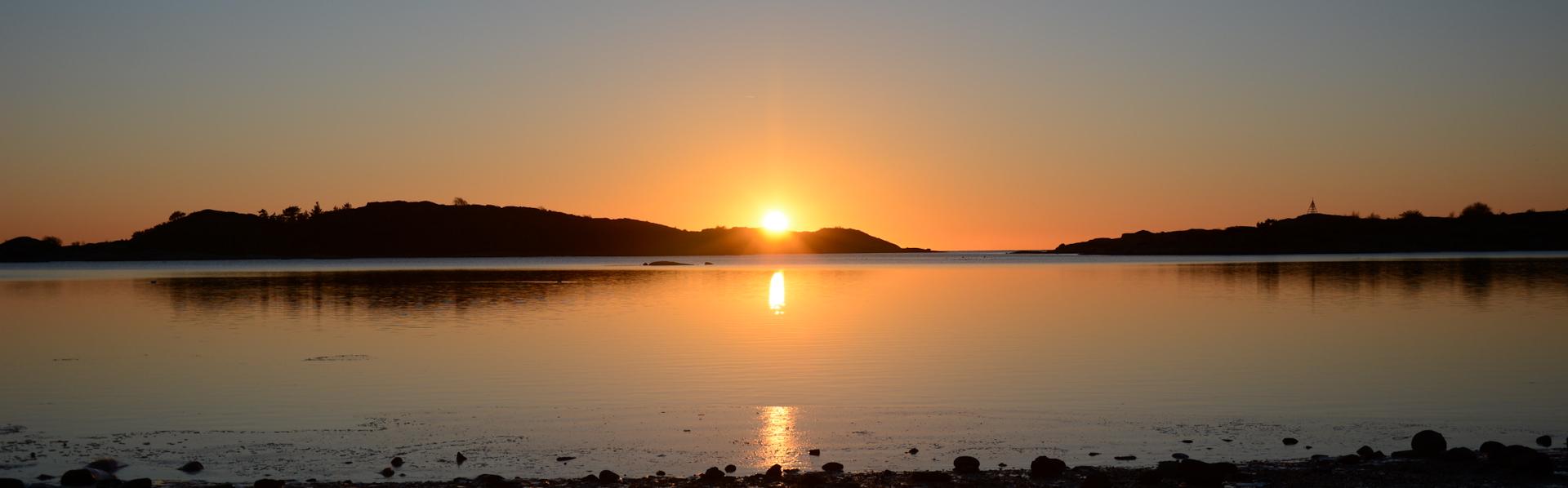 Sunset in Gothenburg